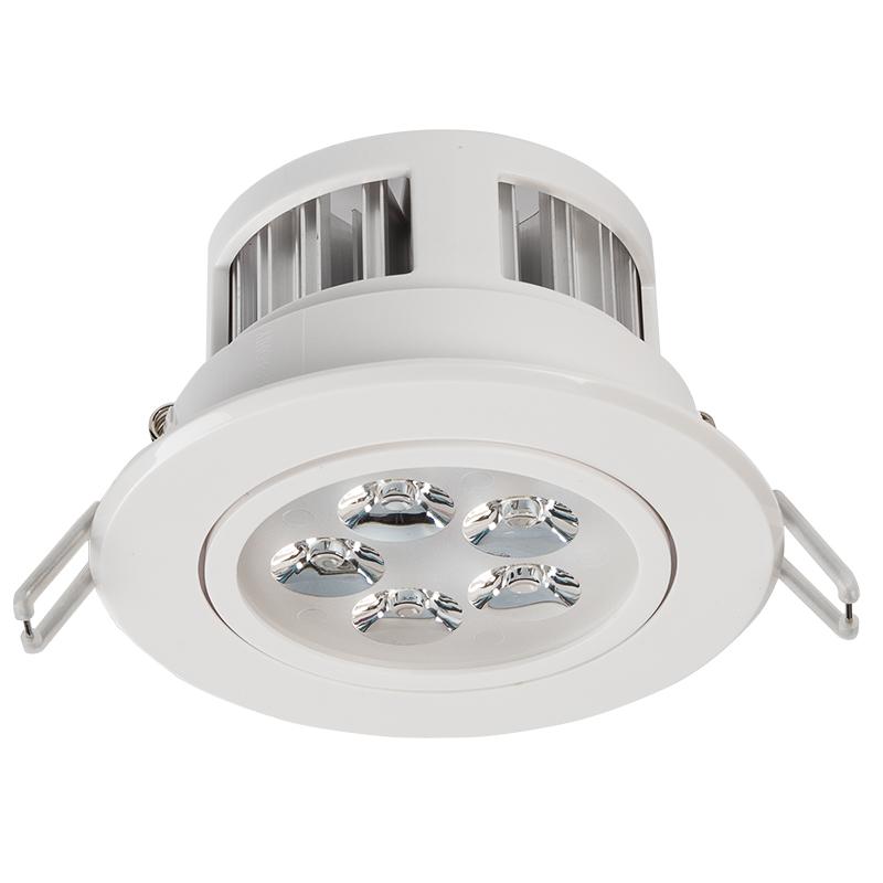 Led Recessed Light Fixture Aimable 40 Watt Equivalent 4 45 460 Lumens