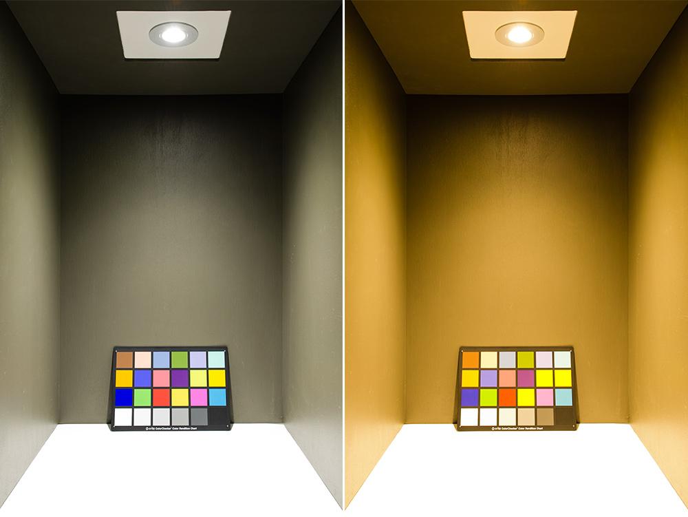 Cob Led Recessed Light Fixture W Multifaceted Lens 60