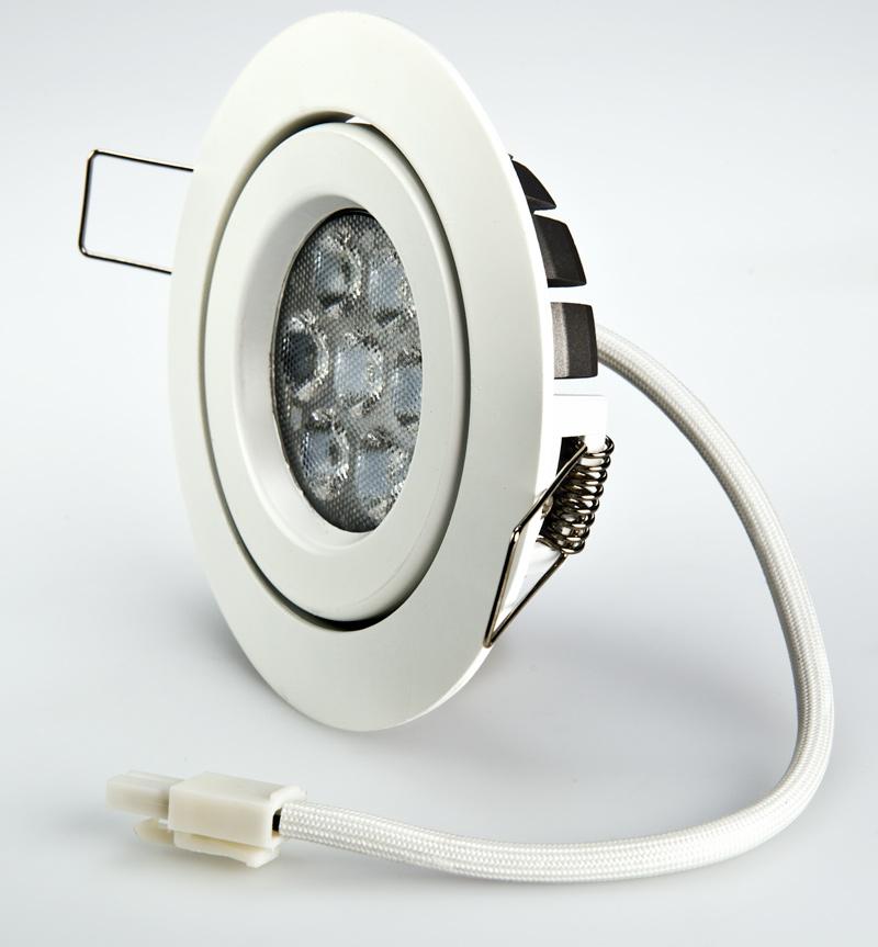 Led Light Fixture Wattage: LED Recessed Light Fixture