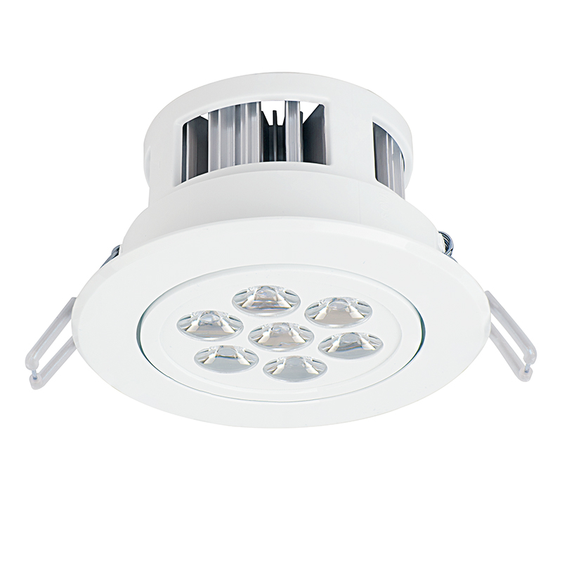 Led recessed light fixture aimable 60 watt equivalent 445 led recessed light fixture aimable 16 watt equivalent 680 lumens mozeypictures Images