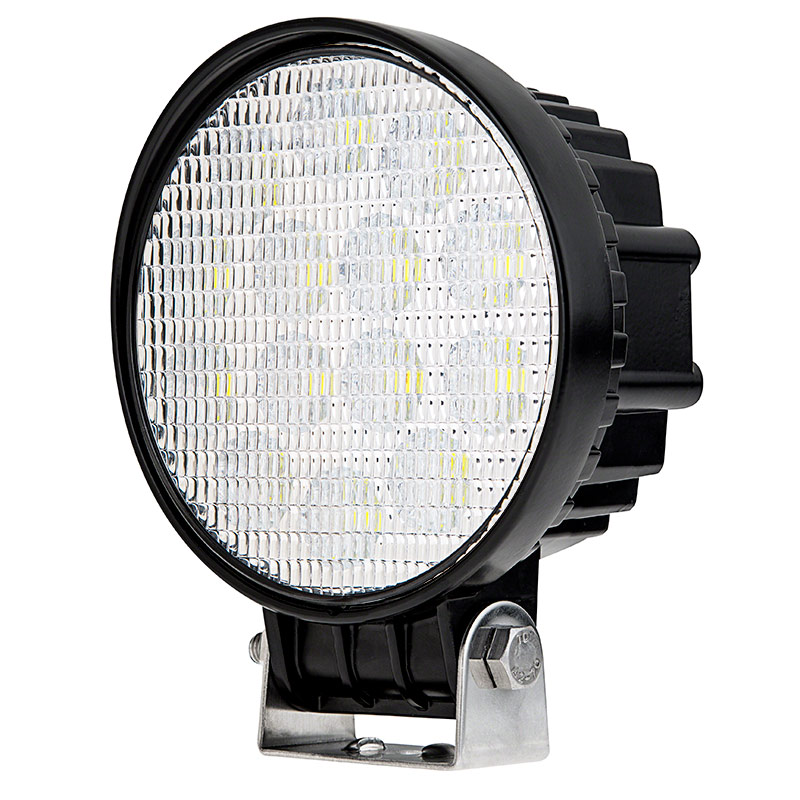 Off Road Led Work Light Led Driving Light W Push Button Switch 5 Round 25w 1 400 Lumens