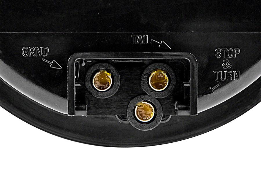 round led truck trailer lights 4 led brake turn tail. Black Bedroom Furniture Sets. Home Design Ideas