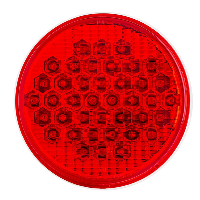 Round Led Truck And Trailer Lights W Reflector 4 Quot Led