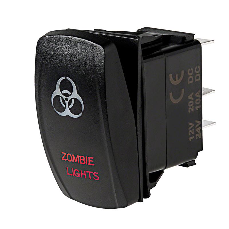 weatherproof led rocker switch zombie lights switch super bright rh superbrightleds com Light Switch Wiring 2 Pole Light Switch Wiring For Dummies