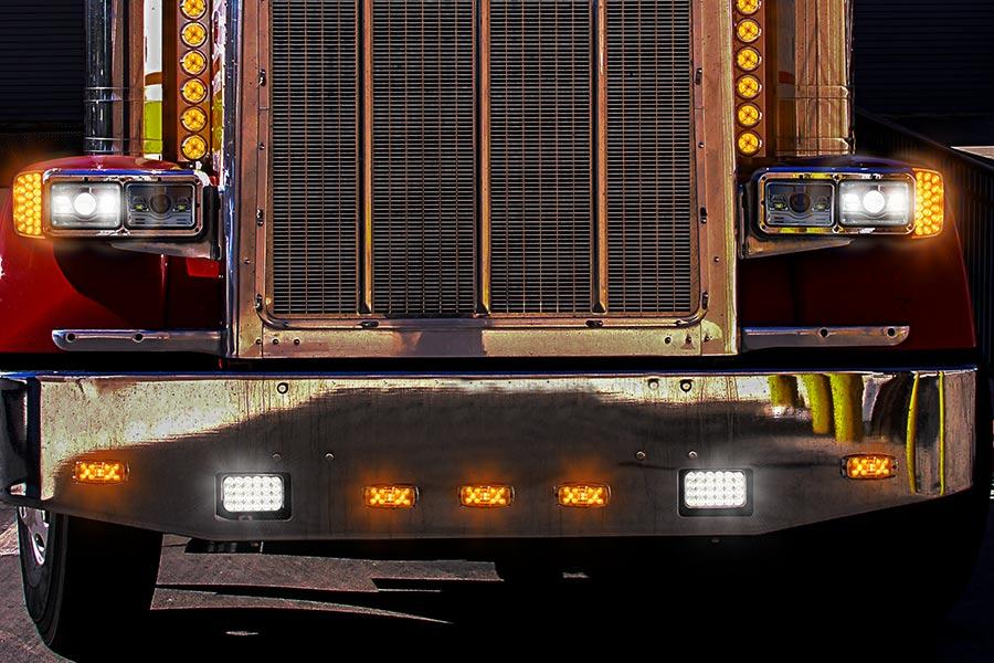 Rectangular H6545 Led Projector Headlights - Led -2184