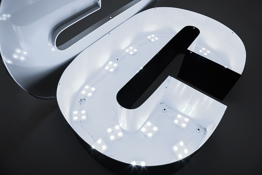 Single Color LED Module - Square Constant Current Sign Module w/ 4 SMD LEDs - 1,875 Lumens - 25 ...