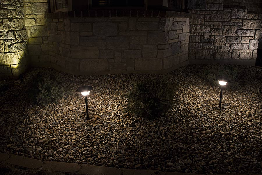 led landscape path lights single tier 4 watt