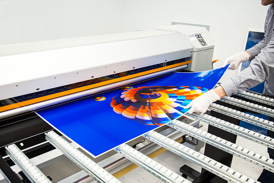 skylens fluorescent light diffuser balloon 2 decorative light cover 2u0027 x 4u0027u0027 panel being printed at sbl