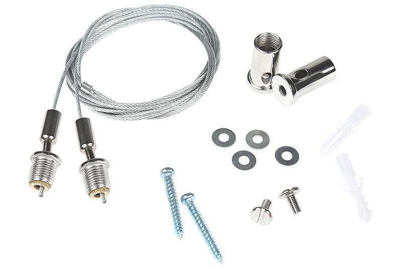 led garage shop light suspension kit super bright leds
