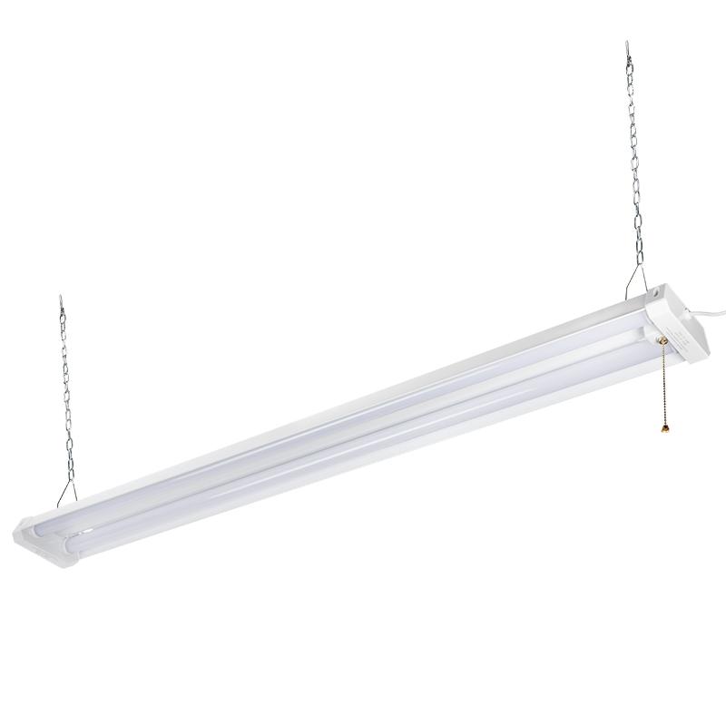 42w Linkable Led Shop Light 4 Led Garage Light With Pull