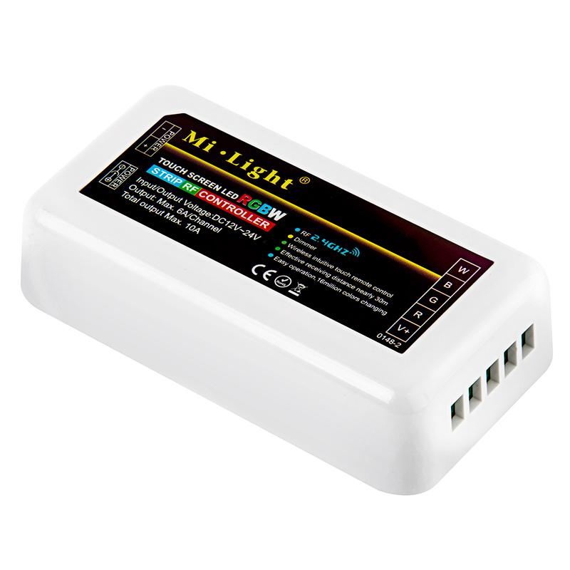 MiLight WiFi Smart Multi Zone RGBW Controller - 6 Amps/Channel