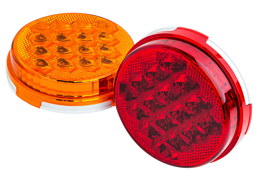 Stop Lamp Led : Round LED Stop Turn Tail Light