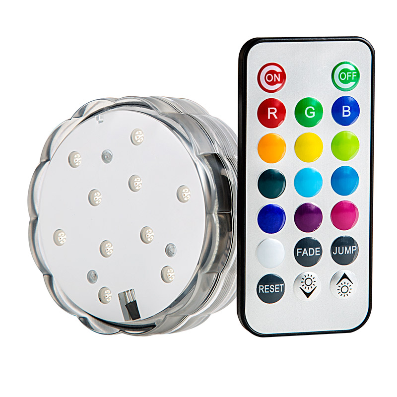 Submersible Rgb Led Accent Light W Remote Super Bright Leds