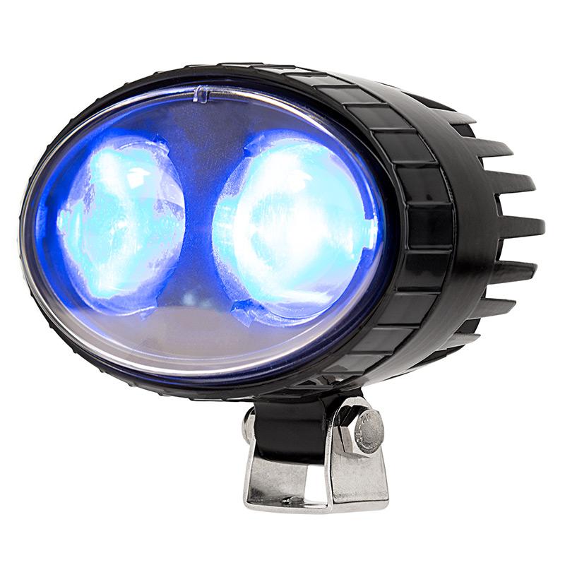 Forklift Blue Light Led Safety Light With 2 176 Square Beam