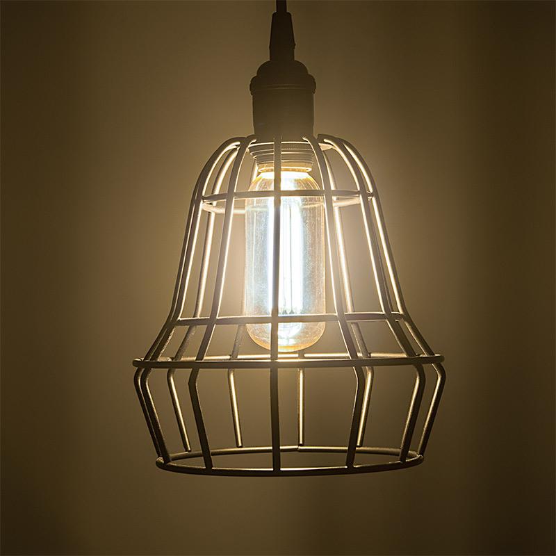 T14 LED Filament Bulb - 75 Watt Equivalent Vintage Light Bulb ...:LED Vintage Light Bulb - T14 Shape - Radio Style LED Bulb with Filament LED:,Lighting
