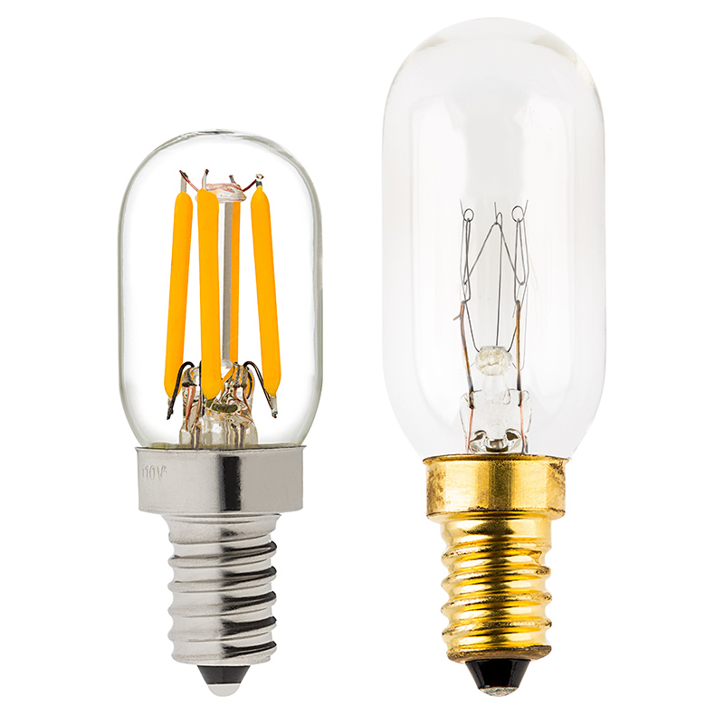 t22 led filament bulb 20 watt equivalent candelabra led. Black Bedroom Furniture Sets. Home Design Ideas