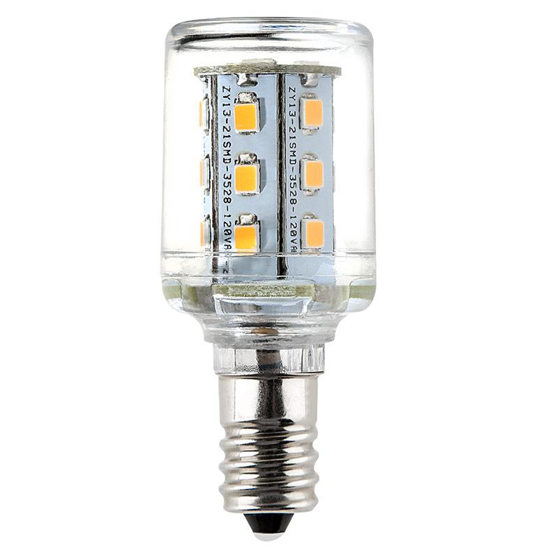 T7 LED Bulb - 10 Watt Equivalent Candelabra LED Bulb - 120 Lumens ...
