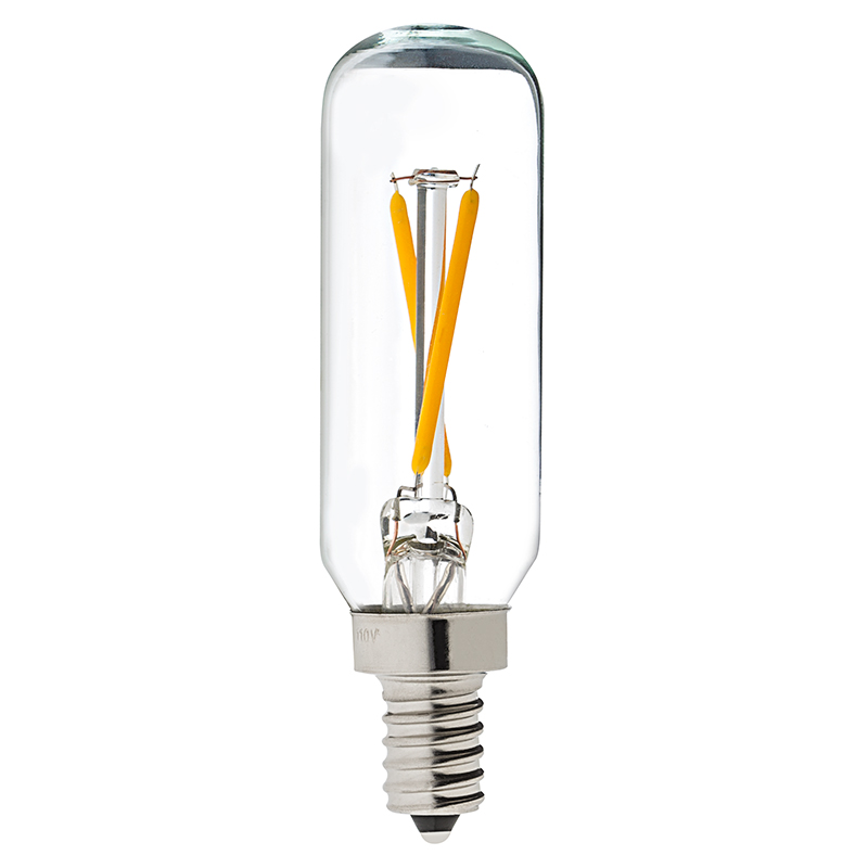 T8 Led Filament Bulb 25 Watt Equivalent Candelabra Led Vintage