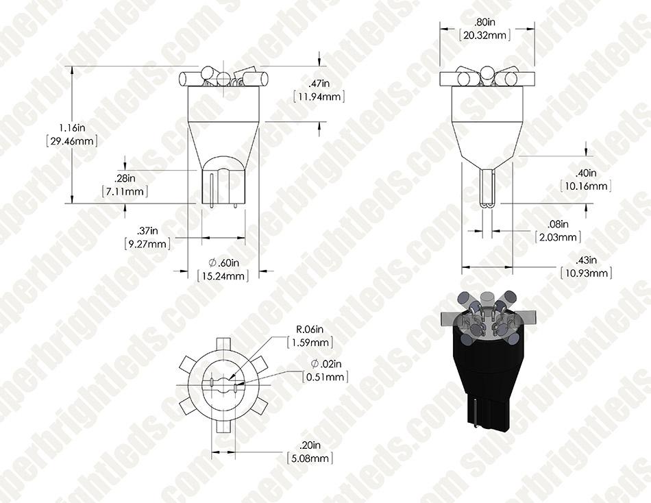 9 rgb led malibu light bulb