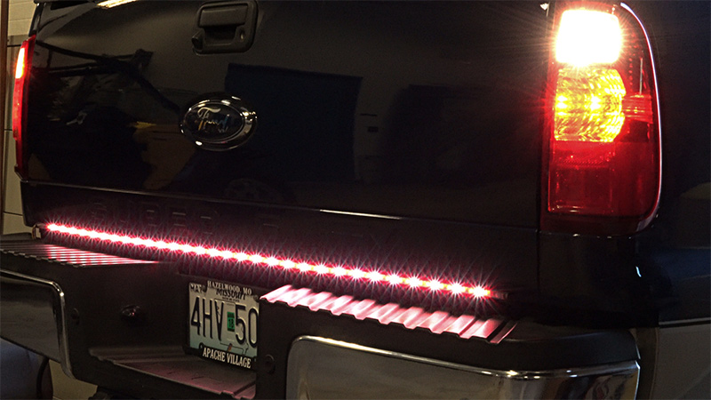 Led tailgate light bar 4 pin connector super bright leds led tailgate light bar 4 pin connector aloadofball Image collections