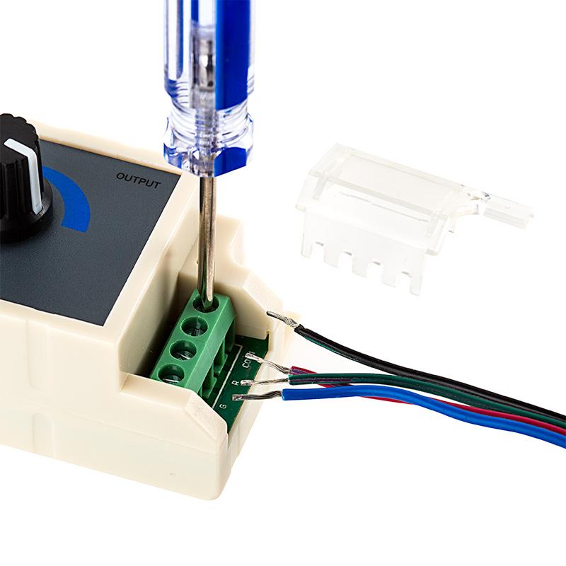 led dimmer switches led controller led dimmers led strip lights. Black Bedroom Furniture Sets. Home Design Ideas