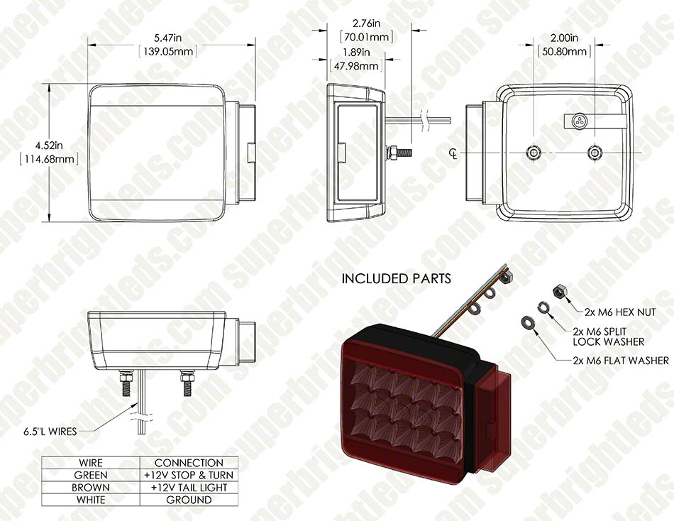 Wiring Diagram For Led Trailer Lights : Atv led light wiring diagram free diagrams
