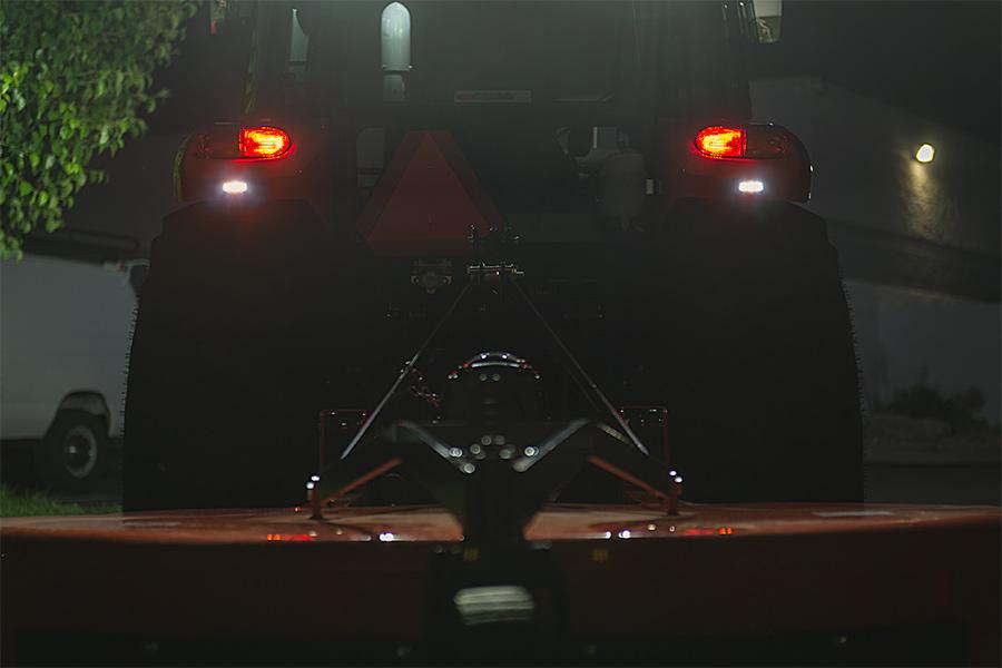 Tractor Strobe Lights : Vehicle led mini strobe light head built in controller