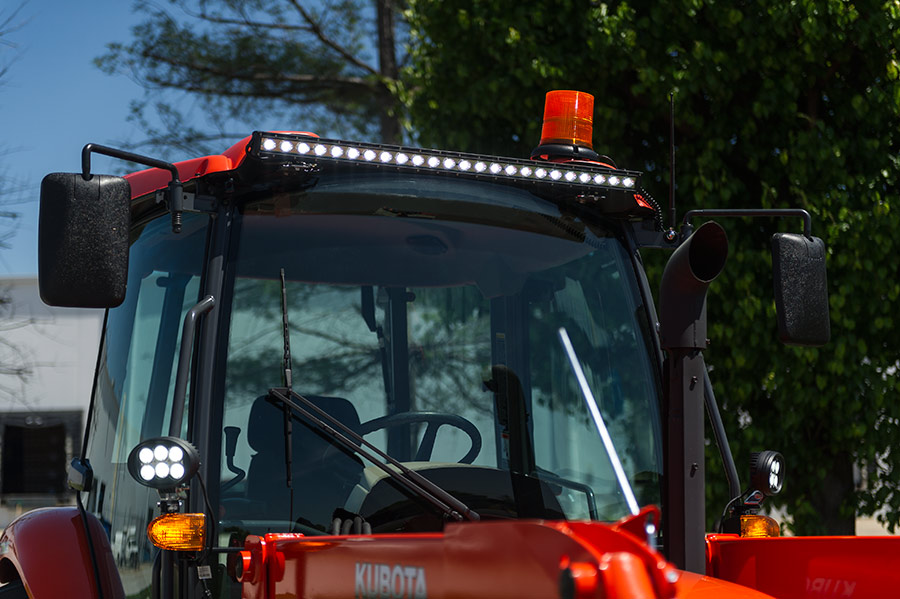 Tractor Strobe Lights : Quot amber led strobe light beacon with leds