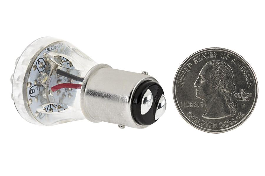 1157 Led Bulb Dual Function 25 Led Motorcycle Bulb Led Brake Light Turn Light And Tail
