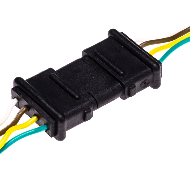 tc 4cfpt 4 wire female trailer light connector plugs connectors. Black Bedroom Furniture Sets. Home Design Ideas