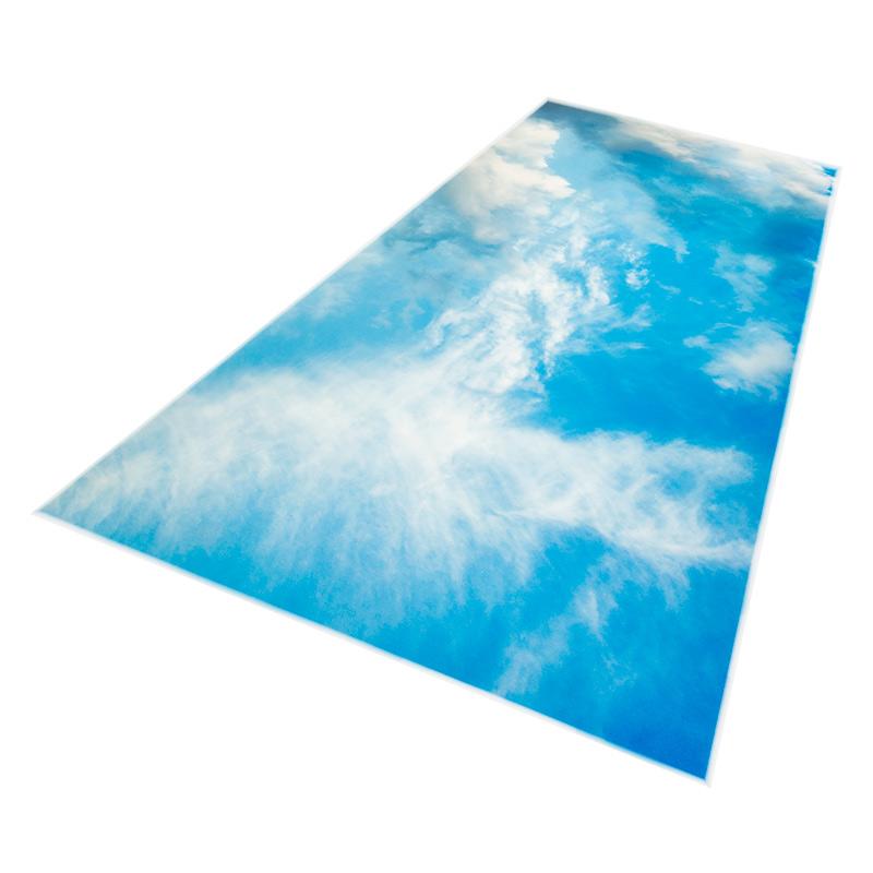 Skylens fluorescent light diffuser summer sky for Decorative diffuser