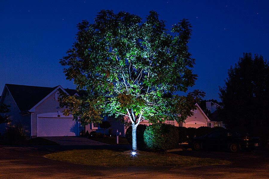 Rgb Led In Ground Well Light 9 Watt Led Landscape