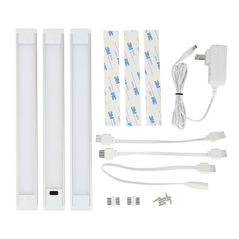 12 U0026quot  Led Under Cabinet Light Kit - 3-piece