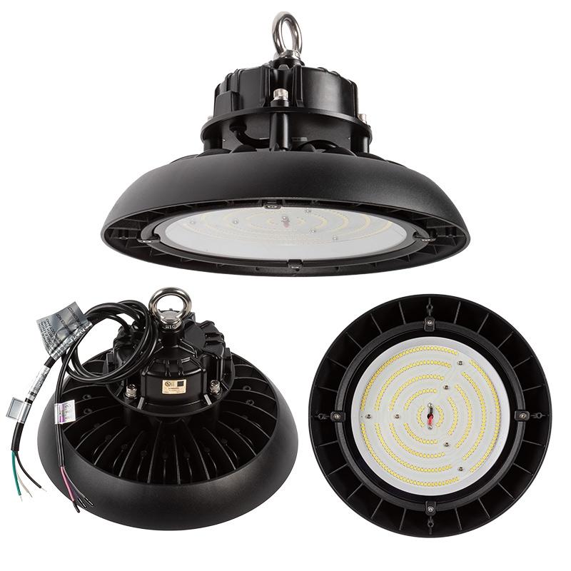 100W Black UFO LED High Bay Light