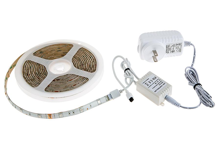 led light strip kits led tape light with 9 smds ft 3 chip rgb smd led. Black Bedroom Furniture Sets. Home Design Ideas