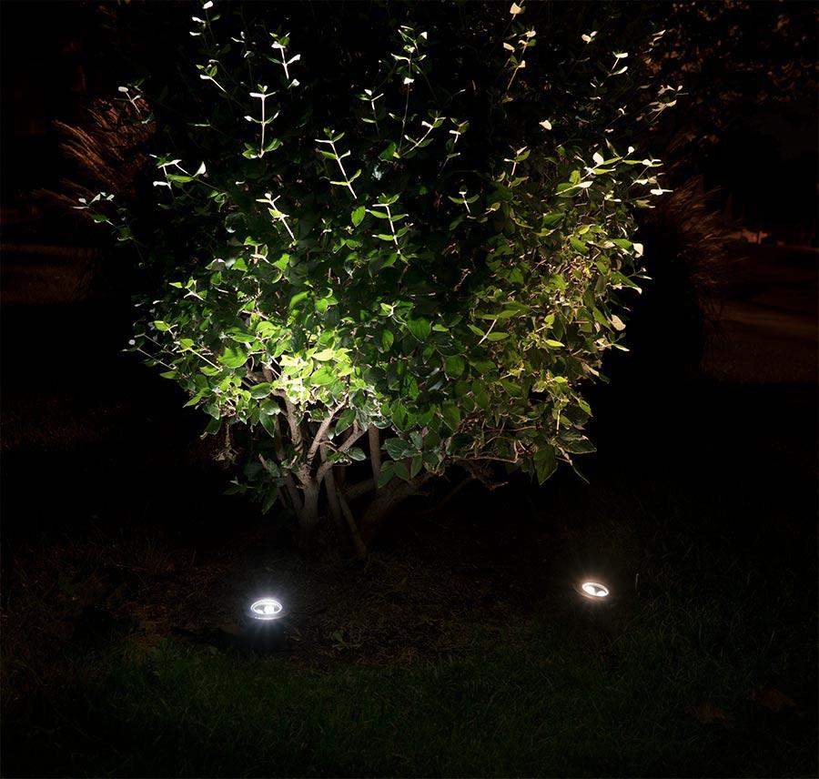 Linkable led in ground well light 3 watt led well for Landscape up lighting led