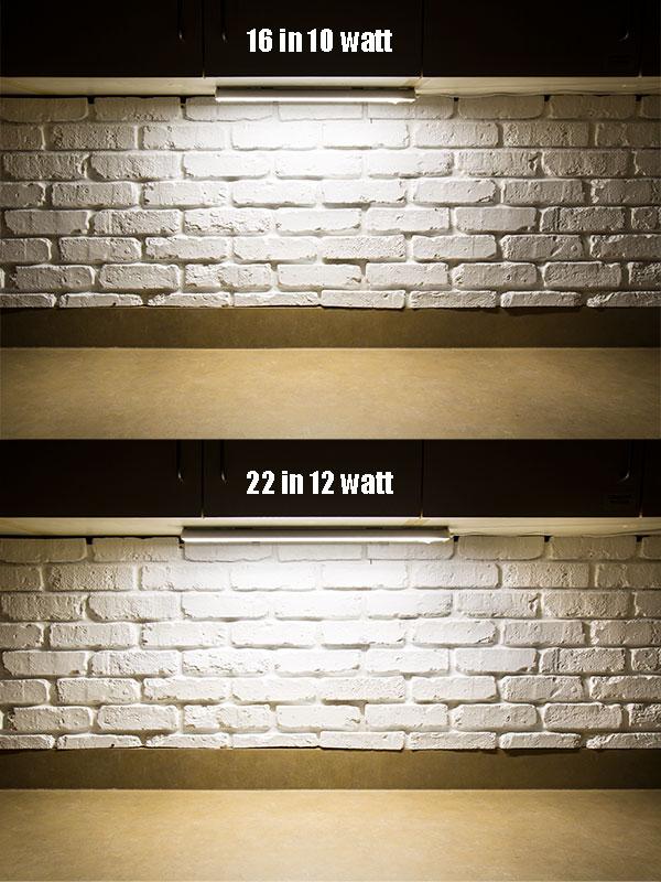 Dimmable Under Cabinet Led Lighting Fixture W Rocker