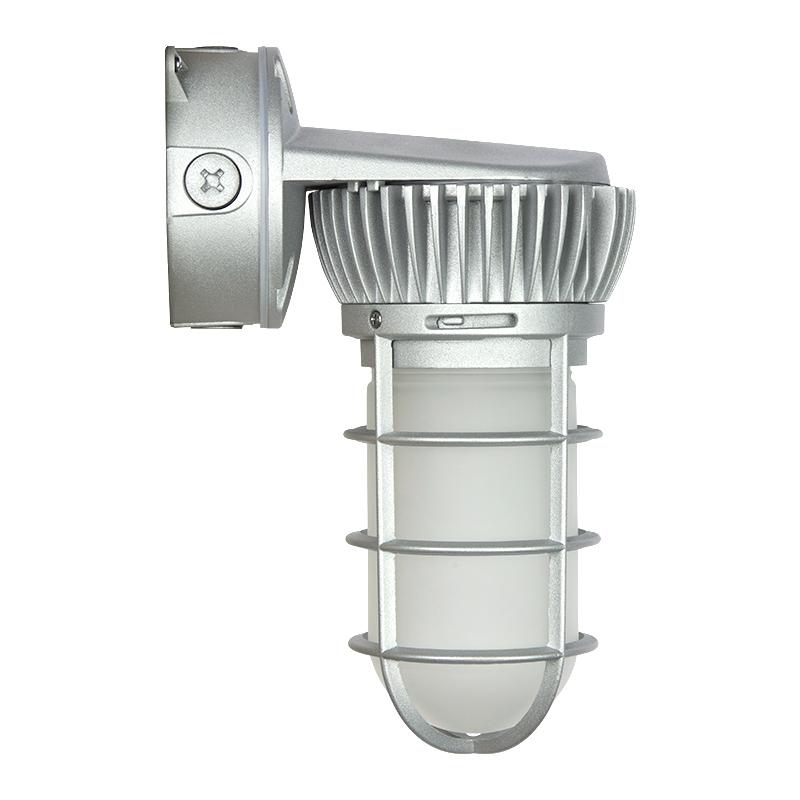 Led Vapor Proof Jelly Jar Light Fixture Caged Wall Mount Lumens