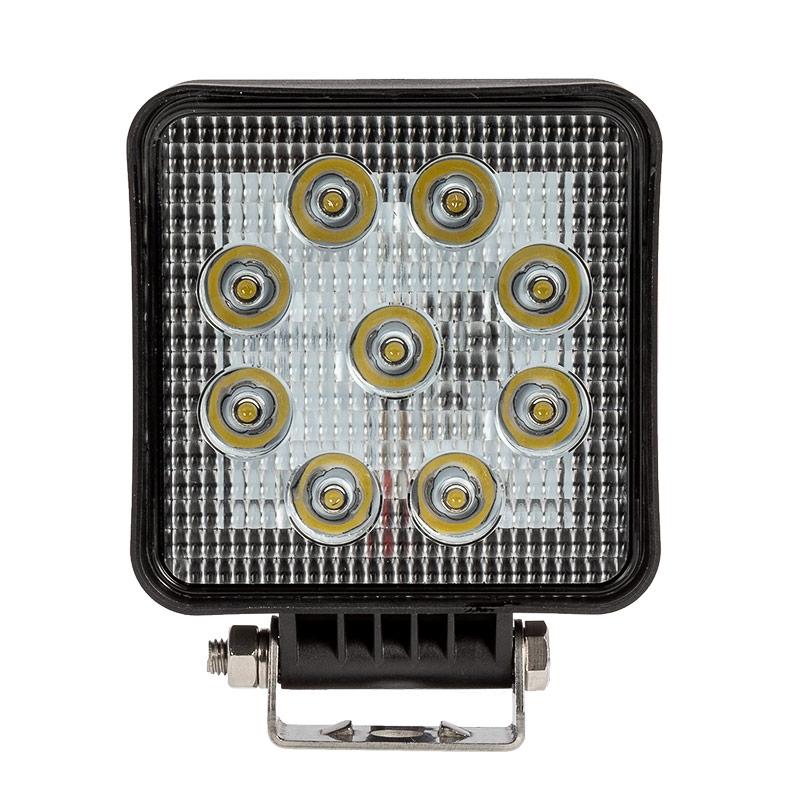 Square Driving Work Light Spot Beam Pattern 1,260 Lumens 6 LED