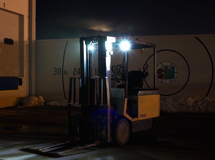 Led Fork Lift Lights : Led light pods quot square work lumens