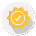 Warranty badge icon