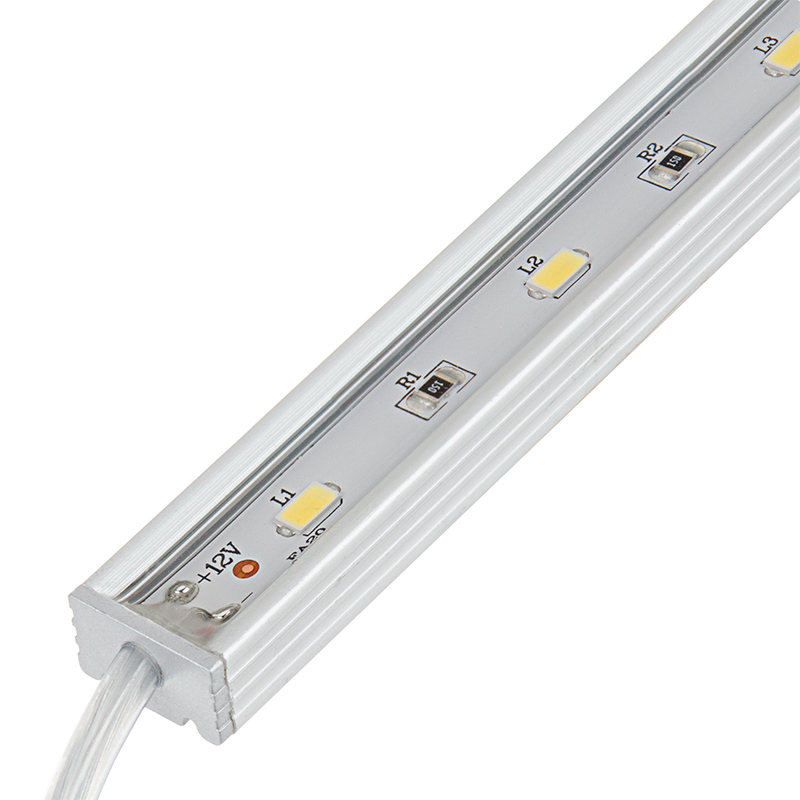 Waterproof linear led light bar fixture w dc barrel for Bar fixtures