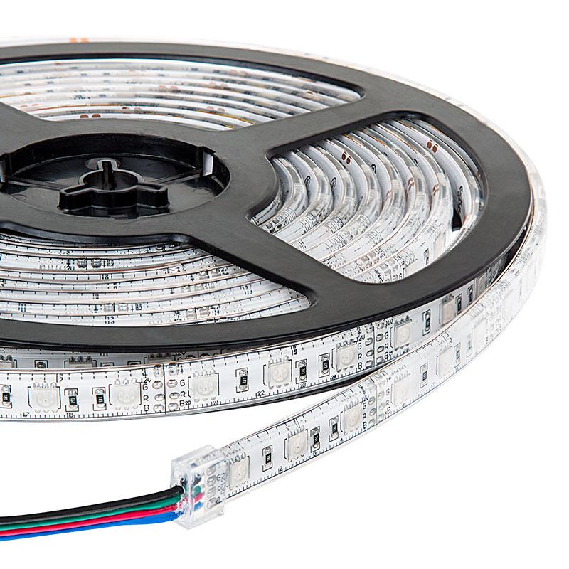 outdoor rgb led strip lights waterproof 12v led tape light 97