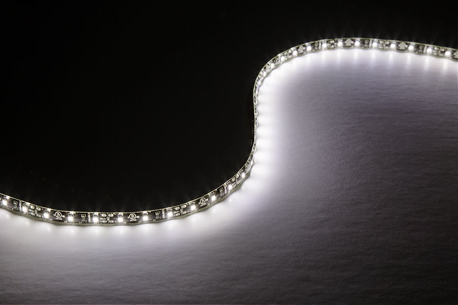 Outdoor LED Light Strips With Switch   LED Truck Bed Lights With 18  SMDs/ft.   1 Chip SMD LED 3528: Showing Brightness
