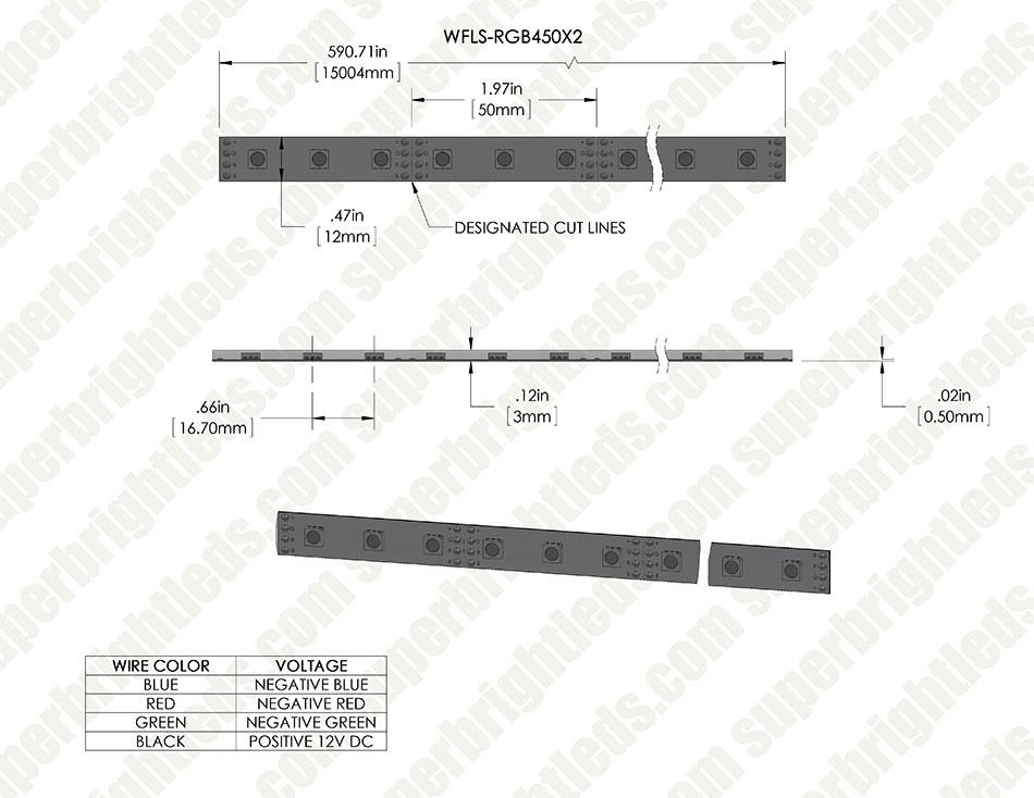 Outdoor Rgb Led Strip Light Reel Weatherproof 12v Led