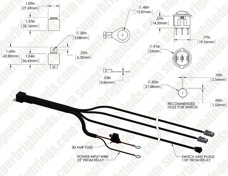 Led Wiring Harness Diagram Wiring Diagram Led Lights Wiring Image