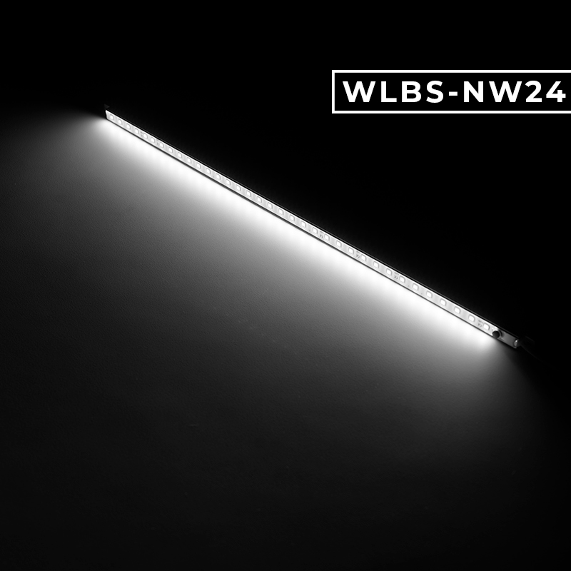 24 X 48 Led Light Fixture: Waterproof Linear LED Light Bar Fixture W/ DC Barrel