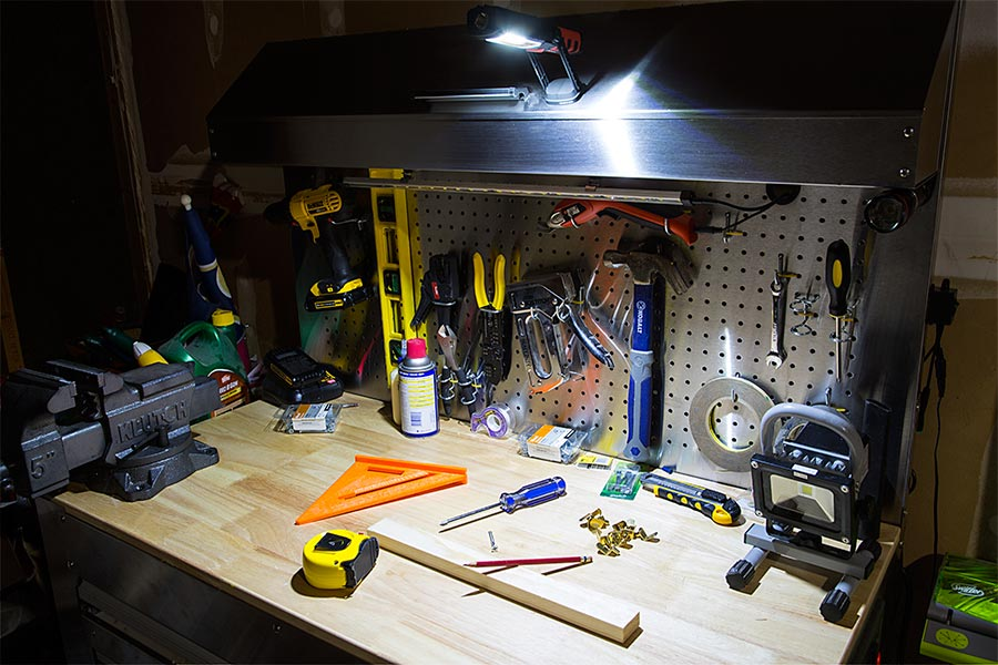 Workbrite 2 Led Work Light Nebo Flashlight 200 Lumens