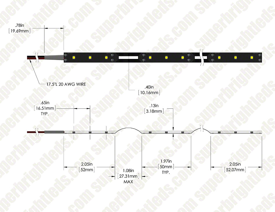 outdoor surface led strip