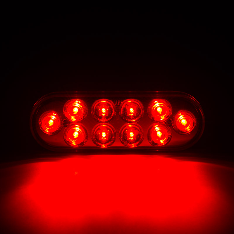 Truck And Trailer Lights : Oval led truck and trailer lights brake turn tail